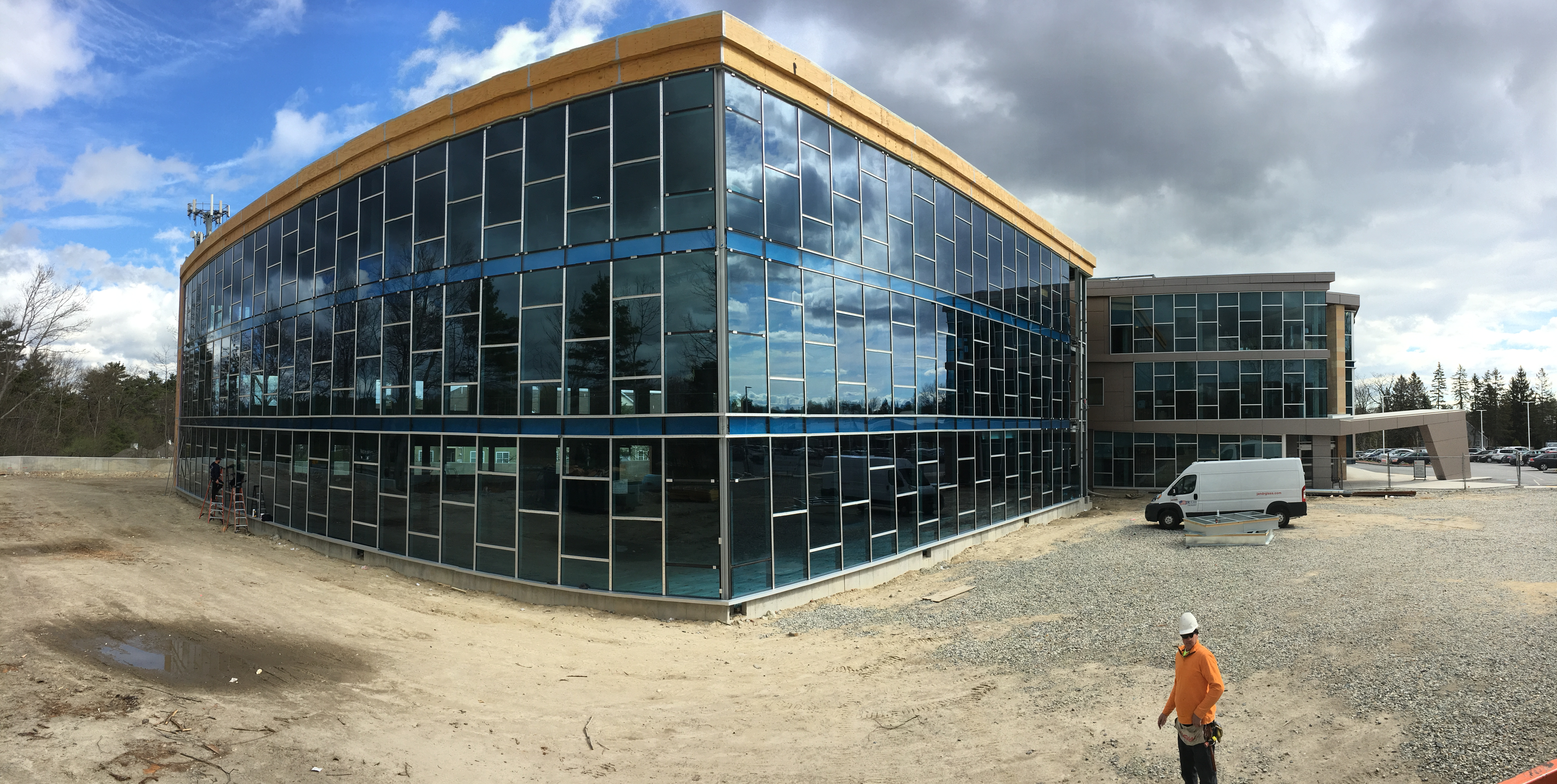 Andover Medical II: Andover Medical II will be complete later this year. The first phase was completed in 2014. Our part is the curtain wall and entrances.