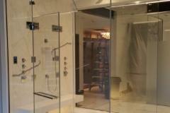 Unique Frameless Shower in Boston